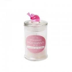 Bougie Bonbonnière Parfumée Linge Frais Rose