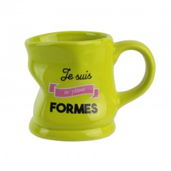Mug Déformé Je Suis En Pleines Formes Vert