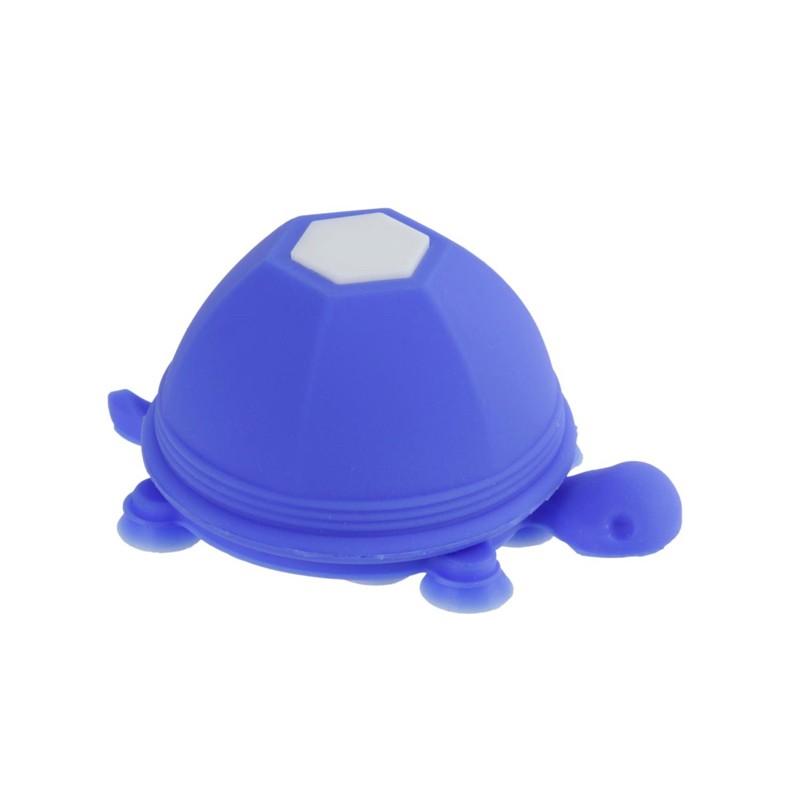 Support et Enrouleur de Câble pour Téléphone Tortue Bleu