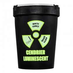 Cendrier Luminescent Anti-Odeur et Anti-Fumée Vert
