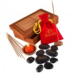 "Coffret de Détente Galets Spa ""Hot Rocks"""