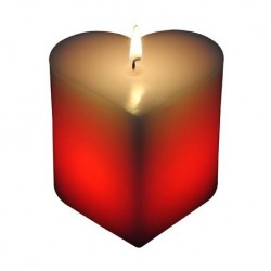 Bougie Led Coeur - Magic Love Candle