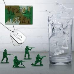 Moule à Glaçons Soldats en silicone