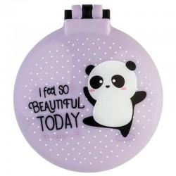 Brosse à Cheveux et Miroir Panda