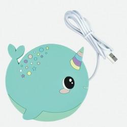 Chauffe-tasses USB Baleine