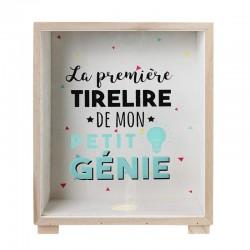 Tirelire Cadre Kids - Première Tirelire De Mon Petit Génie