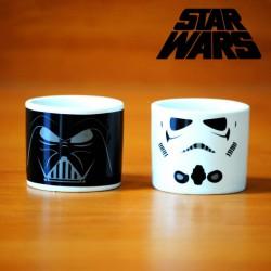Coquetiers Dark Vador et Stormtrooper Star Wars