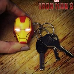Porte-clés Lampe Torche Led Iron Man Marvel