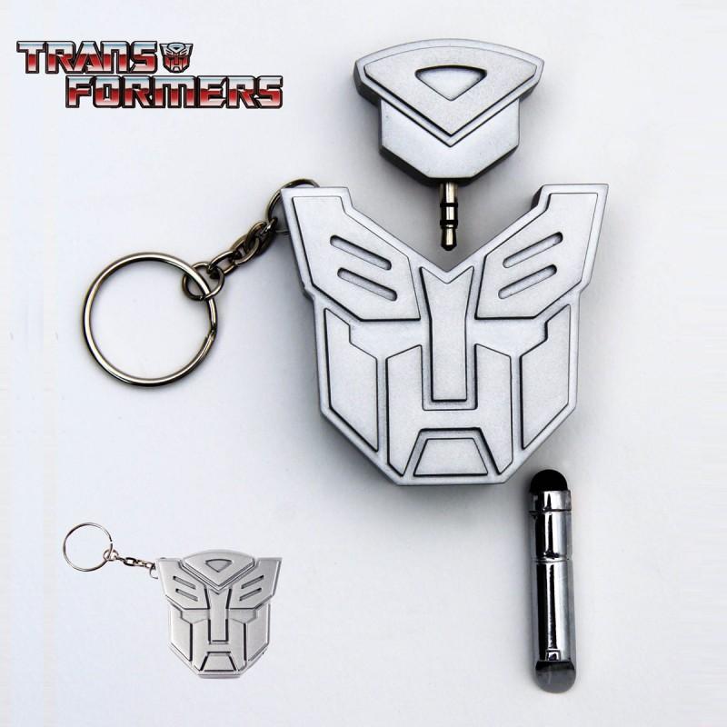Transformers Autobots Porte-cl/és en m/étal avec Logo