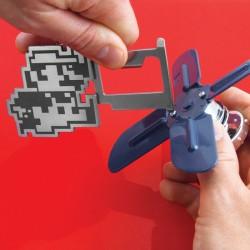 Porte-clés Multifonction 3 en 1 Super Mario Bros Nintendo