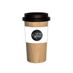 Pot à Crayons en bois Café
