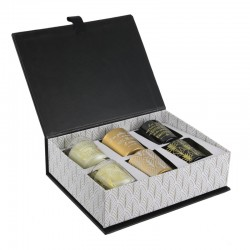 Coffret 6 Bougies Vanille Home Deco Art - What A Wonderful Life