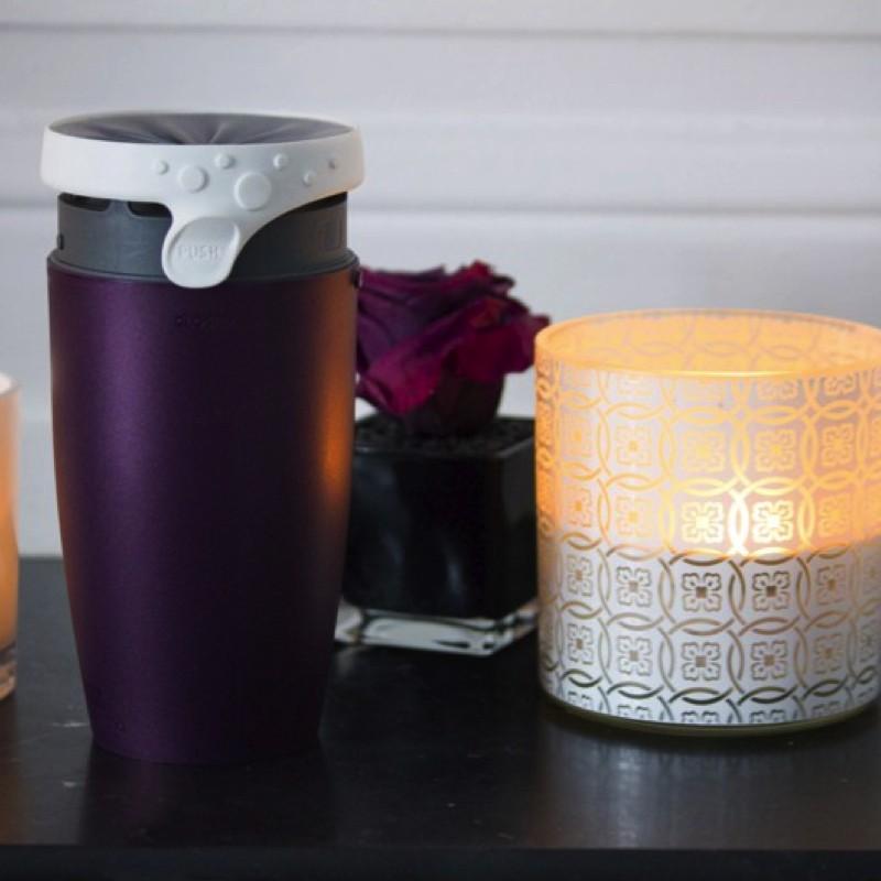 Mug étanche et isotherme Twizz Purple Rain 35cl - Néolid