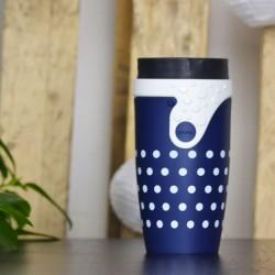 Mug étanche et isotherme Twizz Polka 35cl - Néolid