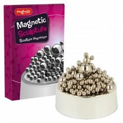 Sculpture Magnétique Boules