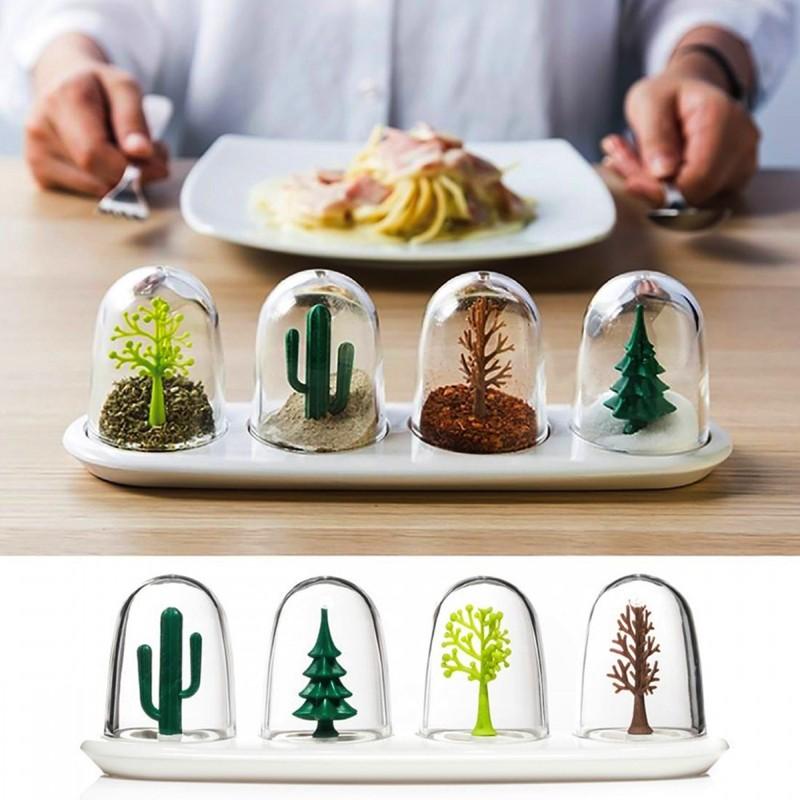 Set Pots à Epices 4 Saisons