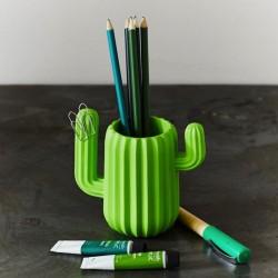 Pot à Crayons Organiseur Cactus
