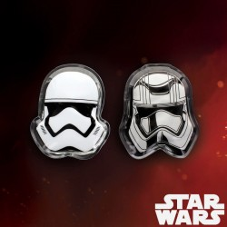 Chaufferettes Star Wars x 2 - Stormtrooper et Captain Phasma