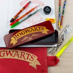 Set de Papeterie avec Boite Métallique - Harry Potter Poudlard