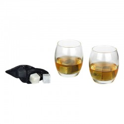 Coffret Whisky Verre x 2 Pierre x 8 et Filet