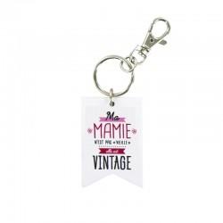 Porte-Clés Famille Fantastique - Mamie Vintage