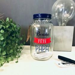 Bocal à Souhaits Bonne Fête Papa