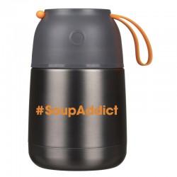 Bouteille Double Paroi Soup Addict
