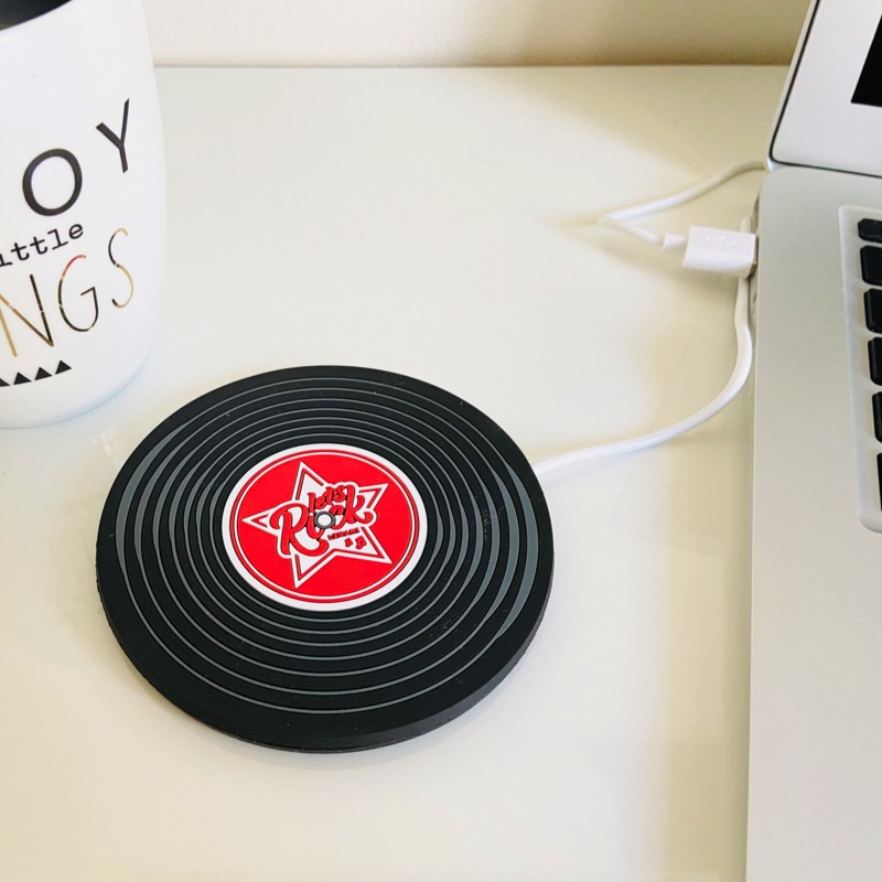 Chauffe-tasses USB Vinyle