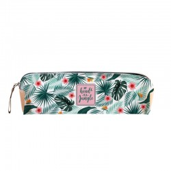 Trousse transparente Tropical