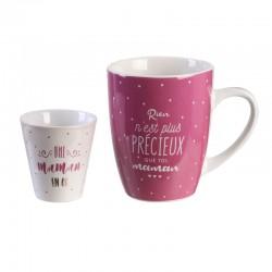 Coffret Mug et Gobelet Expresso Maman