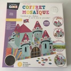 Coffret Mosaïque 3D avec 1840 Autocollants - Château