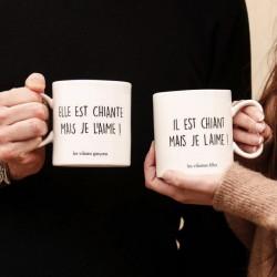 Coffret Duo Mugs Mais Je L'Aime - Les Vilaines Filles