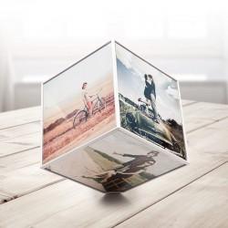 Cadre Cube Rotatif 6 Photos