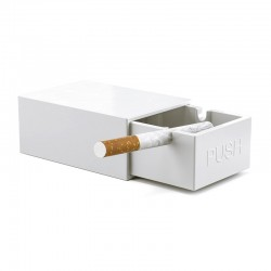 Cendrier Match Box Blanc