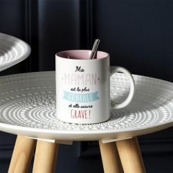 Mug en Céramique Maman Géniale