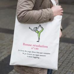 Tote Bag Motivée - Yoga