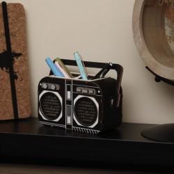 Pot à Crayons à Monter Radio