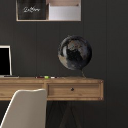 Globe Terrestre Décoratif Noir