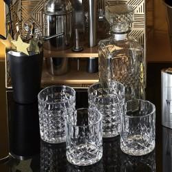 Coffret Bouteille Whisky et 4 Verres