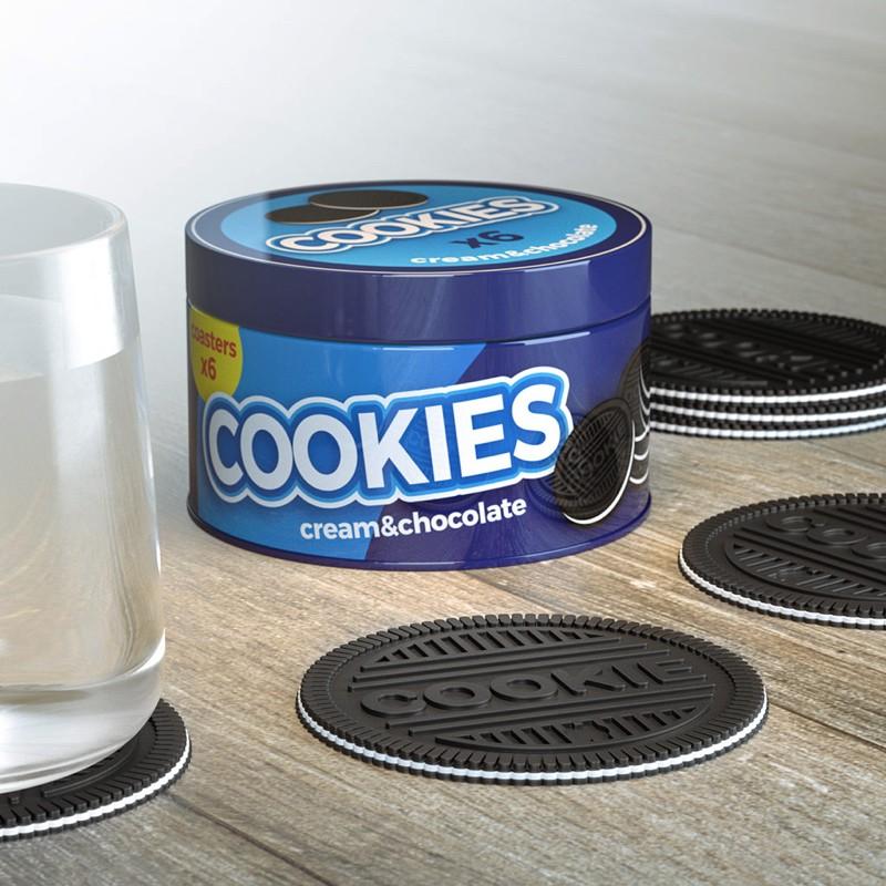 Sous-Verres Cookies x 6