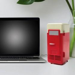 Mini Frigo USB Rouge