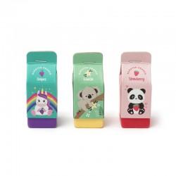 Set de 3 Gommes Parfumées - Yummy