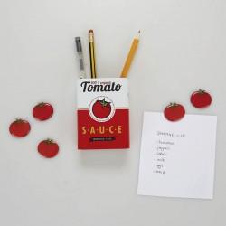 Pot à Crayons Magnétique - Tomato Sauce