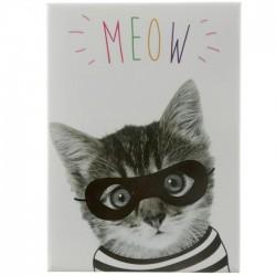 Aimant Chat habillé Meow