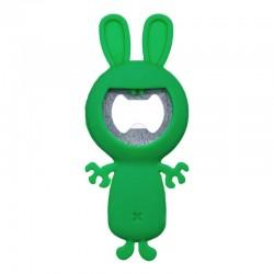 Décapsuleur Funny Animals Lapin Vert