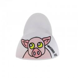 Pince Sonore Aimantée pour Frigo Blanc Cochon