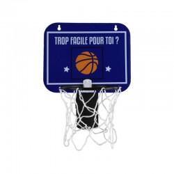 Panier de Basket pour Corbeille Bleu