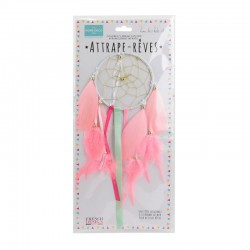Attrape-Rêves 10 cm Fille Rose