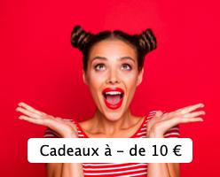Toutes nos idées cadeaux à moins de 10 euros