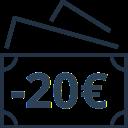 Cadeaux de 15 à 20€